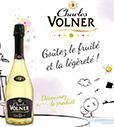 Vin mousseux Charles Volner 100% remboursée