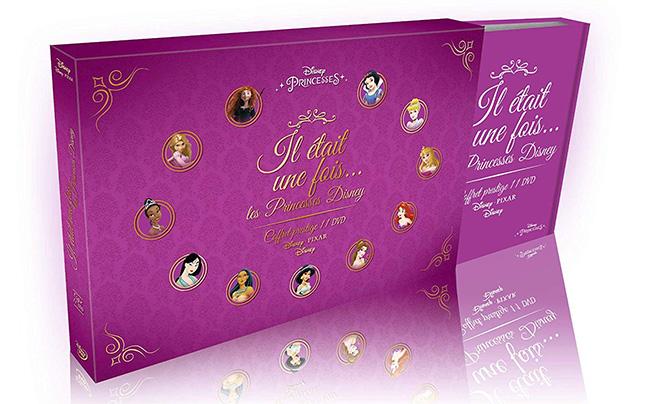 Il était une fois... les Princesses Disney - Coffret 11 DVD moins cher