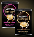 échantillons gratuits de café NESCAFÉ Espresso
