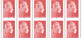 Augmentation 2019 du prix des timbres : 1,05€ le timbre rouge !