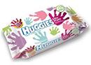 échantillon test de lingettes Huggies