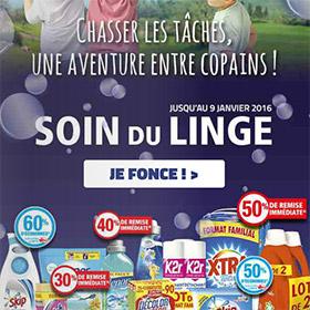 Promotions Auchan : Bons plans lessives pas chères (dès 0€)