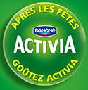 Jeu concours Activia et Carrefour