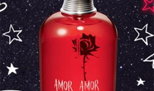 Échantillon parfum Amor Amor de Cachare