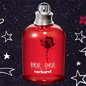 Échantillons gratuits de parfum Amor Amor de Cacharel