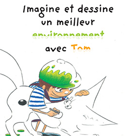 Recevez le livre de coloriage gratuit : Imagine et dessine …