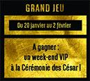 Jeu concours BNP Paribas pour les cérémonie des César