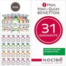 Concours Nocibé et Benetton