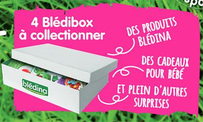 coffrets Blédina offerts