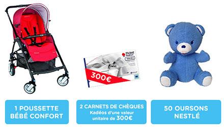 concours « Nestlé P'tit souper » : lots à gagner