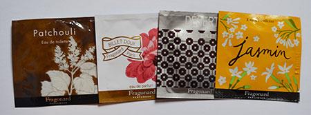 échantillons gratuits de parfums Fragonard à domicile