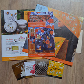 Fragonard Parfumeur : Catalogue et échantillons gratuits