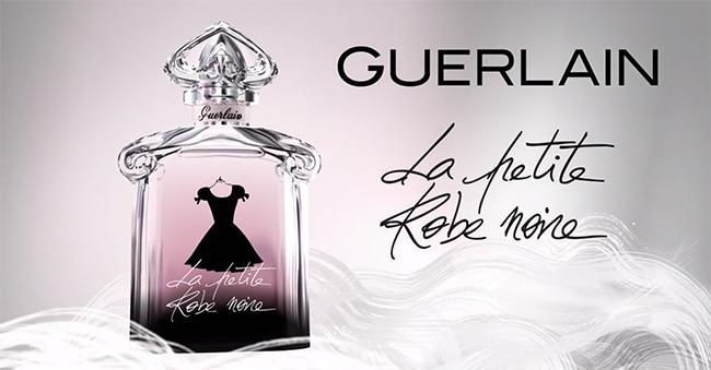 dose d'essai de l'eau de parfum Guerlain La Petite Robe Noire