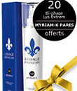 échantillon test Myriam K Paris