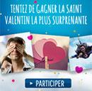 Concours de Saint-Valentin avec Caprice des Dieux