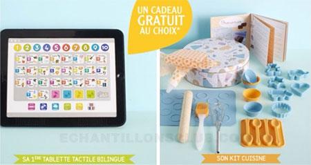 Cadeau vertbaudet kit p tissier ou tablette ducative - Code promo la redoute frais de port offert ...