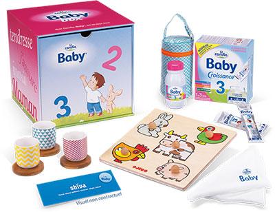 Contenu de la Candia Baby Box