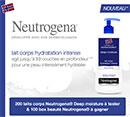 Test de produit et jeu concours Neutrogena