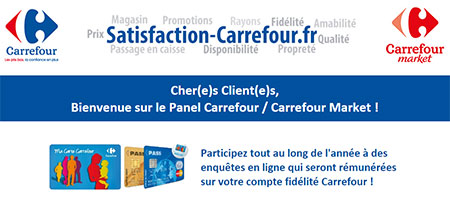 Satisfaction Carrefour