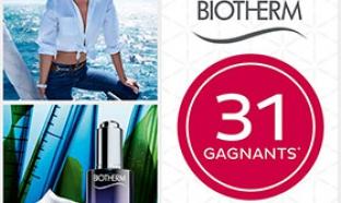 Jeu concours Nocibé : 35 soins Biotherm à gagner
