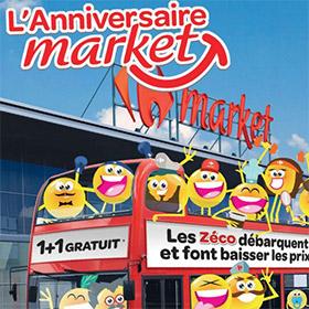 Grand Jeu Carrefour Anniversaire Market + Promotions