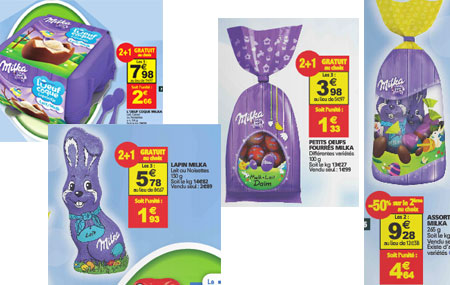 Optimisation Auchan Milka