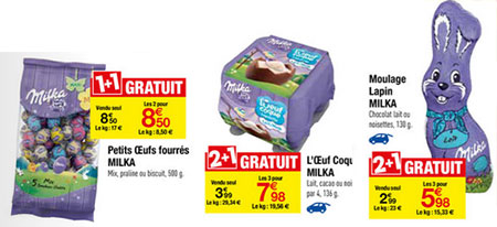 Optimisation Carrefour Milka
