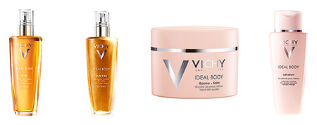 La gamme Ideal Body de Vichy