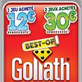 Offre de remboursement Goliath