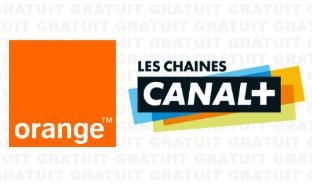 Orange TV : Le bouquet Canal+ gratuit en clair