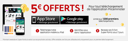 Offre mobile Priceminister