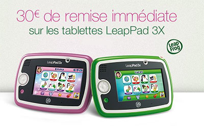 réduction LeapPad 3 sur Amazon