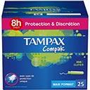 super bon plan sur les tampons Tampax Compak