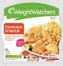 échantillon test de plats Weight Watchers