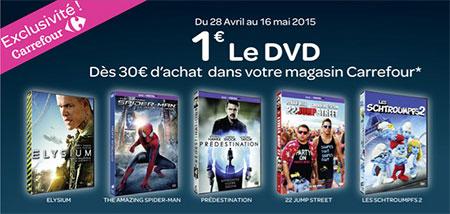 Bon plan DVD Carrefour
