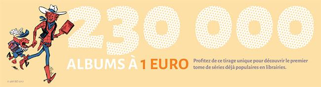 Bon plan Fnac 48h BD : 12 BD à 1 euro