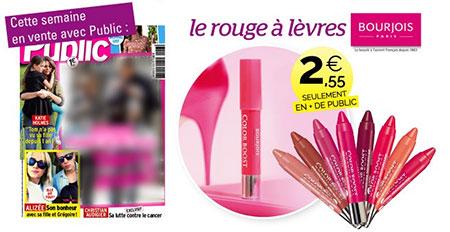 Rouge à lèvres Bourjois Color Boost moins cher