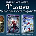Bon plan DVD chez Carrefour