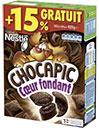 Paquet de céréales Chocapic moins cher
