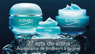 Jeu concours Biotherm