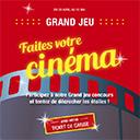 Faites votre cinéma avec Carrefour