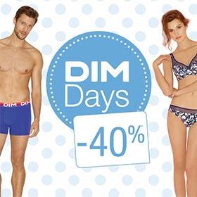 Les DIM Days 2016 : 40% de réduction sur la lingerie + 10%