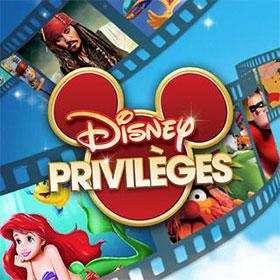 Cumulez des points et recevez des cadeaux gratuits Disney Privilèges