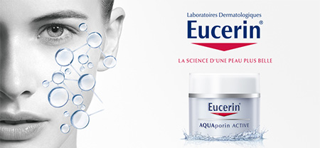 Testez le soin hydratant AQUAporin Active d'Eucerin