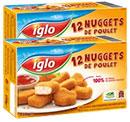 boîtes de Nuggets de Poulet Iglo moins chères