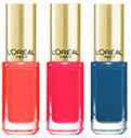échantillon test de vernis à ongles L'Oréal Paris