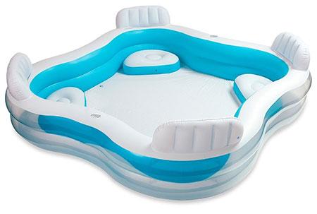 Petites piscines intex familiale ou enfant pas ch res - Petite piscine pour enfant ...