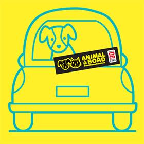 Stickers « Animal à bord » personnalisés gratuits