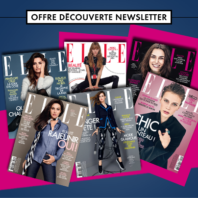 abonnement gratuit au magazine papier elle 9 offerts. Black Bedroom Furniture Sets. Home Design Ideas