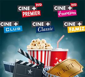 Orange TV : Bouquet Ciné+ gratuit en Mai 2016